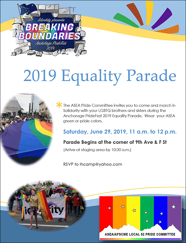 Anchorage 2019 Equality Parade--June 29, 2019