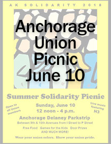 Anchorage Summer Solidarity Picnic on June 10, 2018