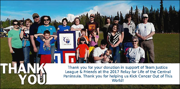 2017 Central Peninsula Relay for Life Thank You!